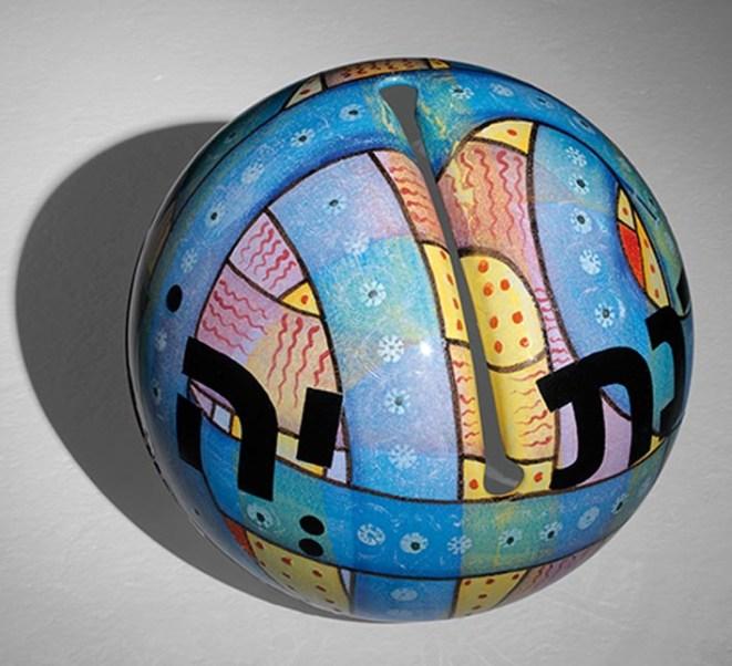 Gheno - 2014, Azzurra, ceramica, Ø cm 45, (800)