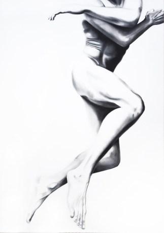 JUMP 61 oil on canvas 70x100cm 2017