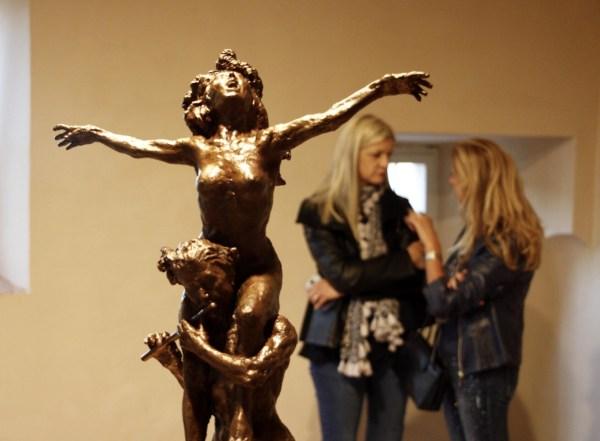 Mostra Dipinti e sculture Il pifferaio magico C. Santachiara.jpg