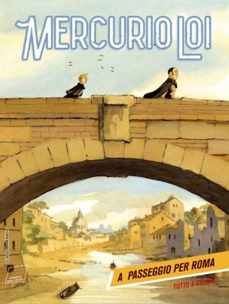 mercurio loi a passeggio per roma copertina.JPG
