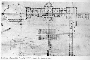Villa della Favorita disegnata da Paolo Pozzo (nov.1787)
