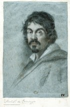 09.CARAVAGGIOLANIMAEILSANGUE_Ottavio Leoni_Ritratto di Caravaggio_Biblioteca Marucelliana_Firenze