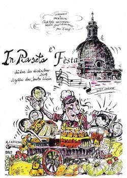 La Cartolina realizzata da Angelo Castagna