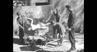 Liberazione di Berchtesgaden e recupero della collezione Goering ad opera della 101st Aiirbone Division. Courtesy of National Archives & Records Administration_b