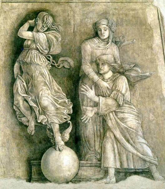 2. Anonimo, Occasio e Paenintentia, 1505 ca, affresco strappato