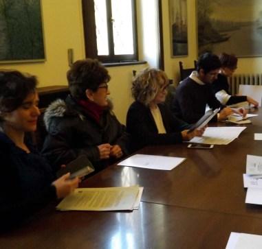 Paola Nobis, Aldo Vincenzi, Irma Pagliari, Susanna Sassi e Enrica Provasi