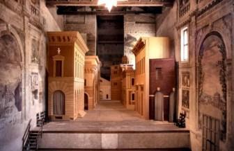 Sabbioneta - Teatro all'Antica - Scena Fissa