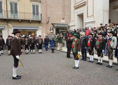 Bolzano - Andreas Hofer commemorato a Mantova.