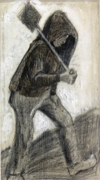 19 - KM 128.344 Boy with a shovel, October - December 1882