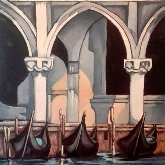 5 LUIGI MELLA_Notturno Veneziano 2017_ 40x50