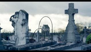 Cimitero di Auvers Sur Oise dal film _Van Gogh tra il grano e il cielo_