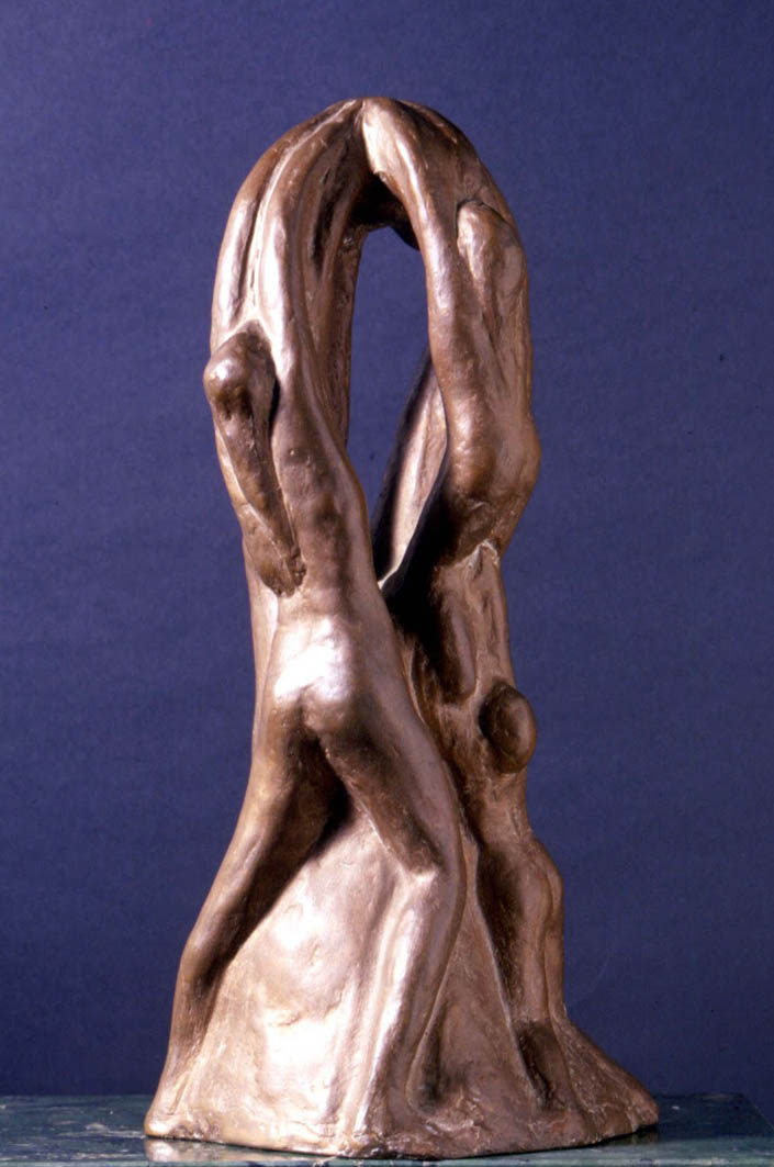 Enzo Nenci Stalagmiti- stalattiti, evoluzione (1957)