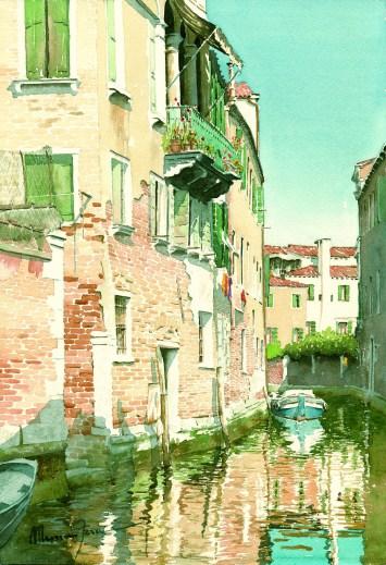 FERRI MASSIMO - Venezia - Semplicità, 2008, acquerello, cm 36x25