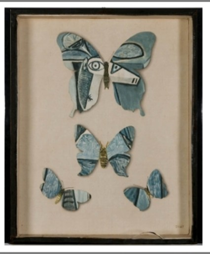 G_Jiri Kolar, Senza Titolo (Farfalle Picasso)