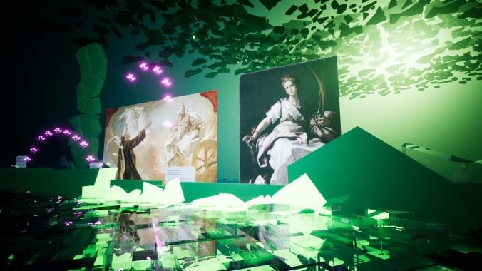 Screenshot dell'installazione MAiO PLAY realizzata da Streamcolors_Opere ritrovate