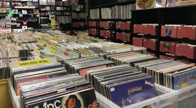 dischi di musica