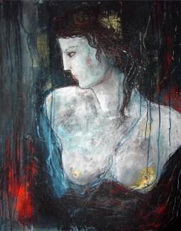 Teresa Noto,Penelope, 2018 cm 100 x 80 tec mista su tela