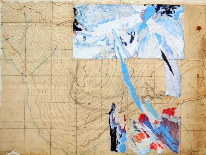 Enos Rizzi-sul muro del tempo-2010-60x80