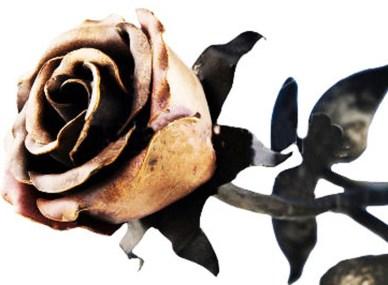 fiore forgiato