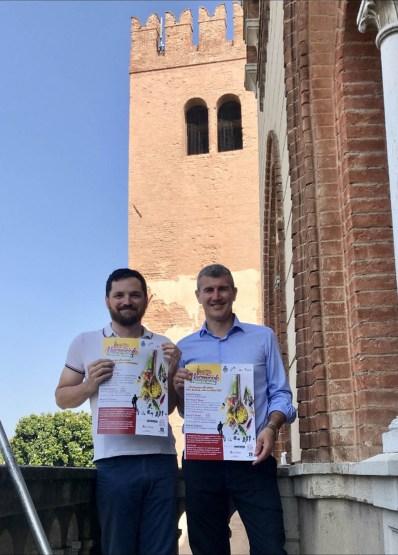 Boschini e Galeotti - foto presentazione festa