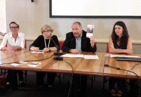 da sx Miriam Colognesi, Renata Casarin, Peter Assmann, Cristina Cazzola.jpg