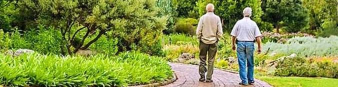 giardino sensoriale per anziani