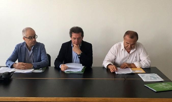 Da sx - Massimo Battisti, Paolo Conti, Marco Boschetti