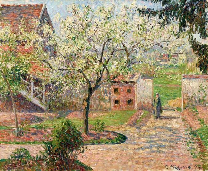 5_Camille-Pissarro_-Alberi-di-prugne-in-fiore-Éragny_-La-casa-dellartista_-1894_-Inv_nr__-267-WH_-Fotograf-Anders-Sune-Berg