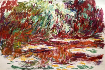 Water lily pond 1918-1919
