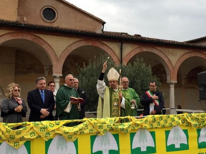 Benedizione vescovo