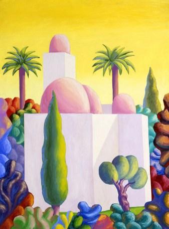 Salvo-San-giovanni-degli-eremitani-olio-su-tela-cm-130x95-©Antonio-Colombo-Arte-Contemporanea