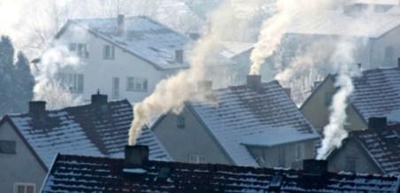 inquinamento impianto di riscaldamento domestico