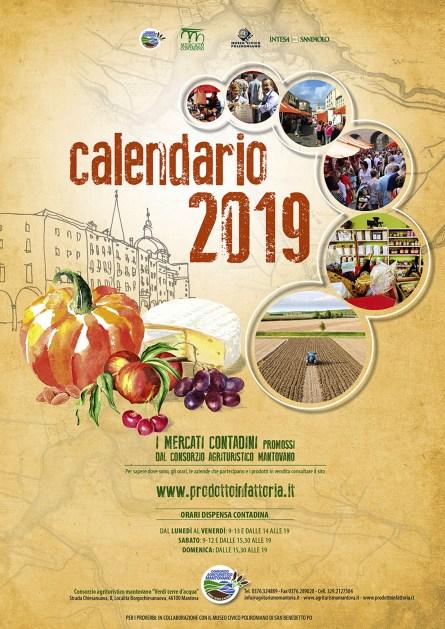 San Biagio Giorno Calendario.Mantova Distribuzione Del Calendario Dei Mercati Contadini