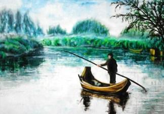 il barcaiolo del Mincio - Tiziana Bionghini