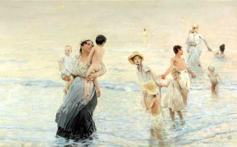 Ettore-Tito_Luglio-sulla-spiaggia.