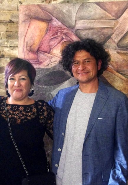 Mary Sperti e Ivan Cristobal Rojas Roa