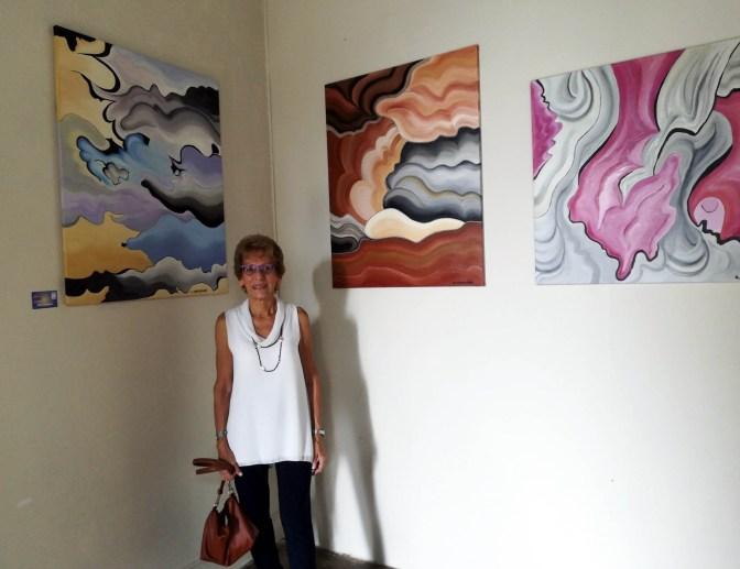 L'artista Anna Somensari