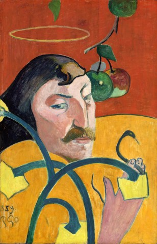 Paul Gauguin (French, 1848 - 1903), Self-Portrait, 1889, oil on wood, Chester Dale Collection 1963.10.150