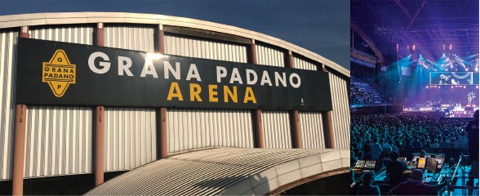 grana padano arena