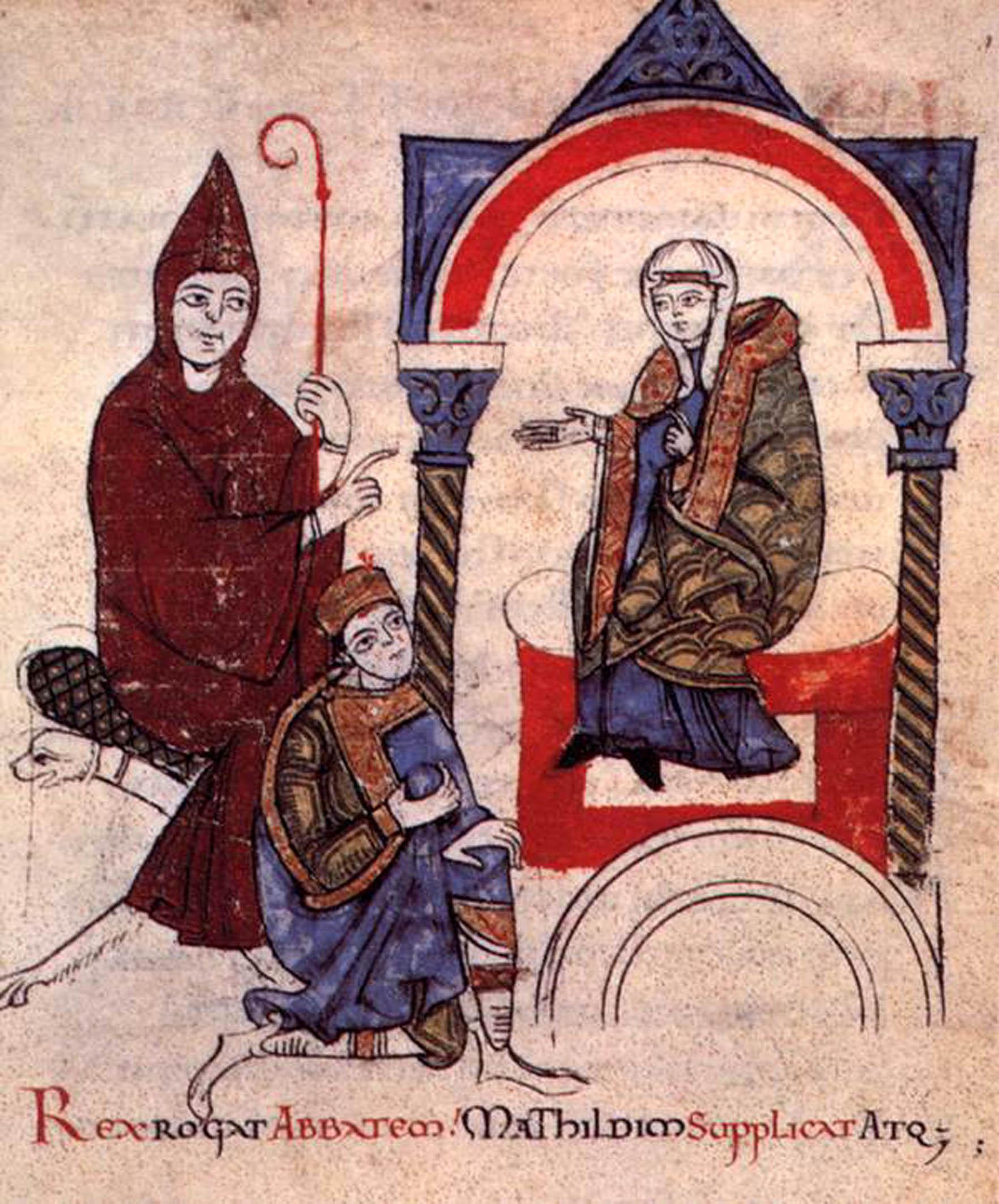 Matilde e l'abate Ugo di Cluny.jpg