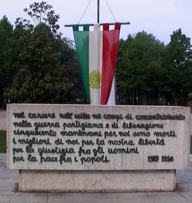 monumento ai caduti - mantova viale piave