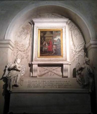 tomba di Matilde di Canossa abbazia di Polirone San Bendetto Po