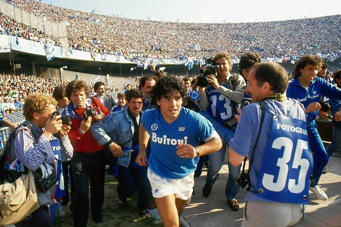 Diego Maradona_Stadio San Paolo@Alfredo Capozzi