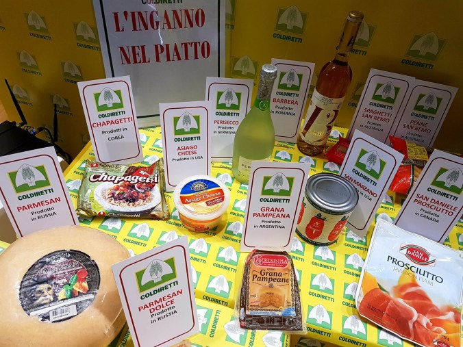 TUTTO FOOD FALSI MADE IN ITALY