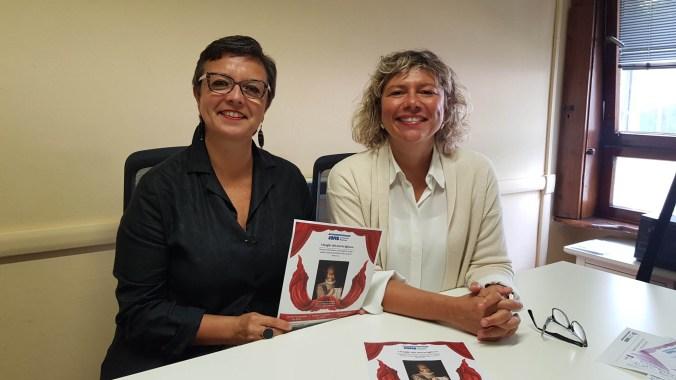 Maura Scapi (Presidente Avis Comunale Mantova) e Federica Pradella (guida culturale)