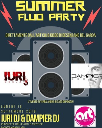 summer fluo party