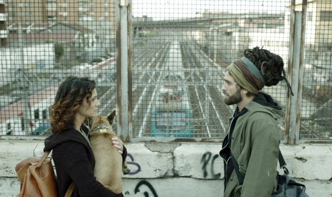 THANKS ! un film di Gabriele Di Luca - photo Bepi Caroli - nella foto Massimiliano Setti e Maria Chiara Augenti