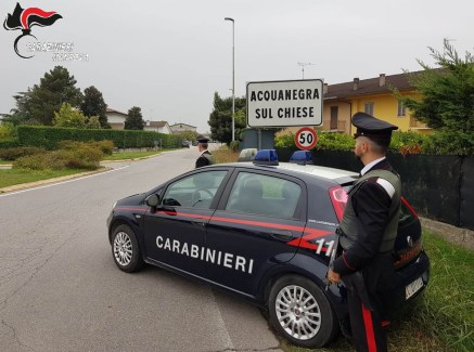 carabinieri Acquanegra con logo