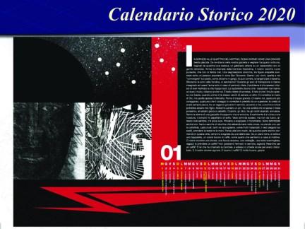 Calendario 2020 gennaio