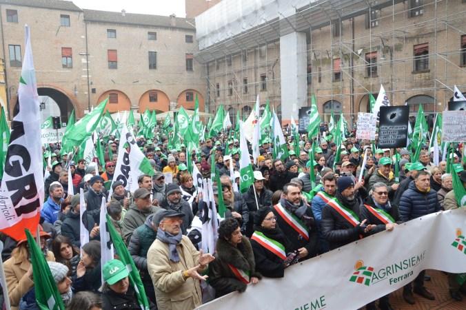La folla in piazza Municipale.JPG